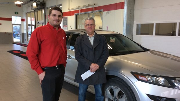 Great service at Orleans Honda