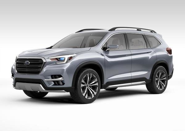 The new Subaru Ascent is born at the New York International Auto Show