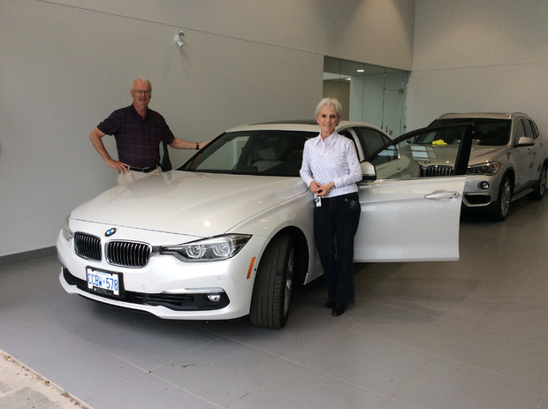 New BMW for us