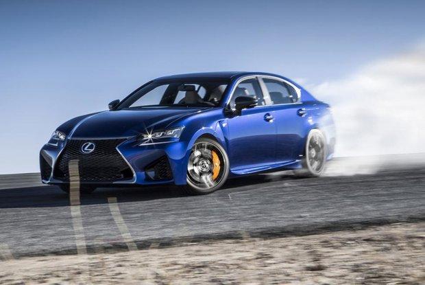 2017 Lexus GS F: impressive performance without sacrificing comfort