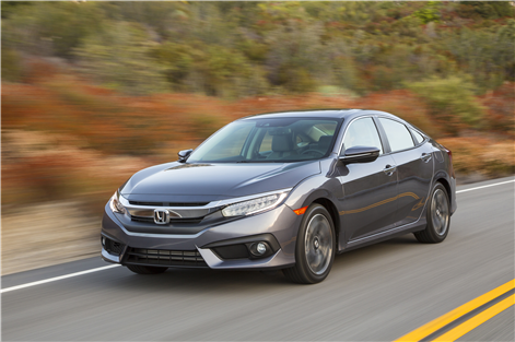 There are 2 million Honda Civic models on Canadian roads