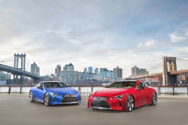 2018 Lexus LC: the new flagship
