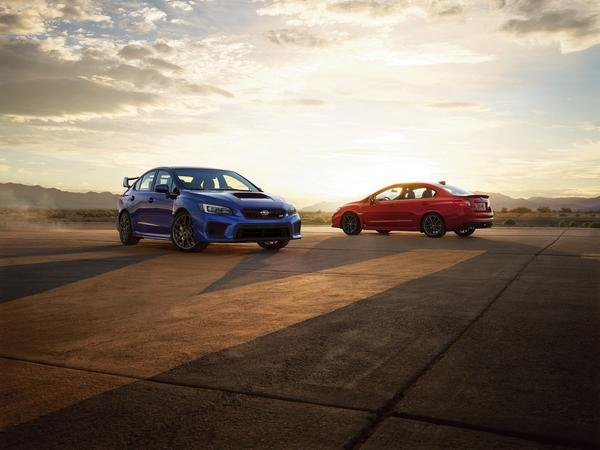 Subaru WRX STI and BRZ get new special editions for 2018