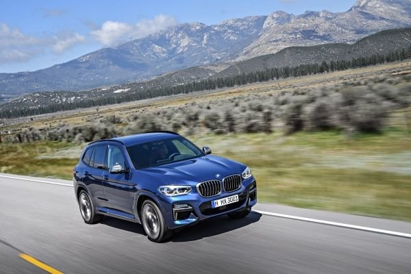Here is the new 2018 BMW X3