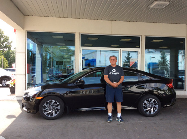 First one from Brockville Honda