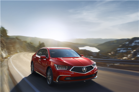Here is the new 2018 Acura RLX