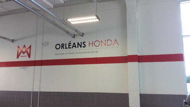 This is my 5th Honda and loving it and the service from the team at orleans Honda