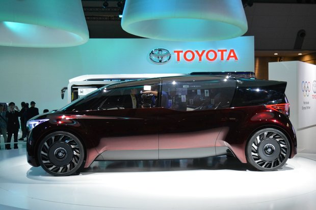 Some of the Toyota concepts presented at the Tokyo Motor Show