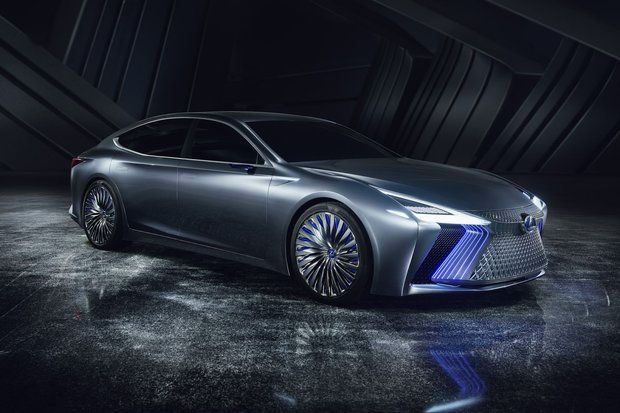 The new Lexus LS+ Concept flagship born in Tokyo