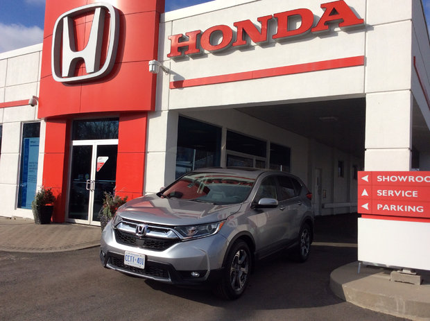 First Honda.