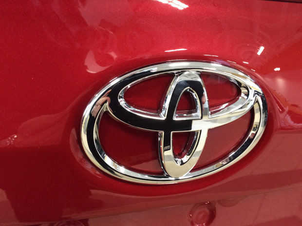 It's a Toyota! Our Second!