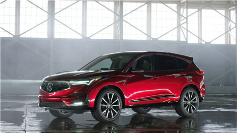 The new 2019 Acura RDX presented in Detroit