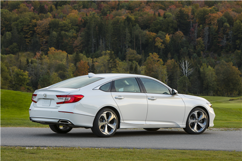 The new 2018 Honda Accord is the North American car of the year