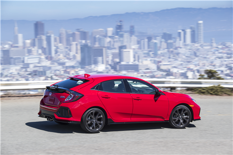 2018 Honda Civic Hatchback: Canada's top selling compact in hatchback form in Orleans, Ontario