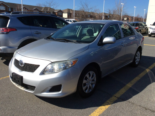 Worth driving from Belleville for.  (2010 Toyota Corolla)