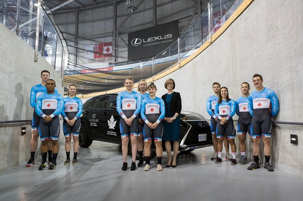 Lexus Canada and Cycling Canada Renew Partnership