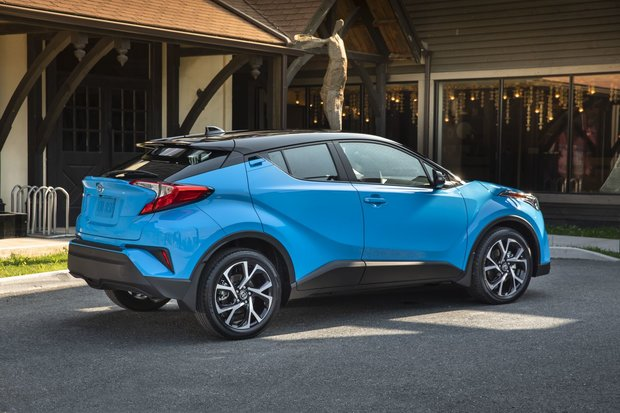 The Improved 2019 Toyota C-HR