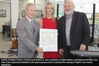 Service Department Grows at Ogilvie Motors