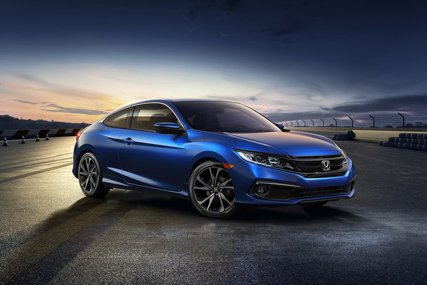 The 2019 Honda Civic Coupe gets a new Sport trim and new tech