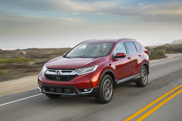 The new 2019 Honda CR-V and all its versions