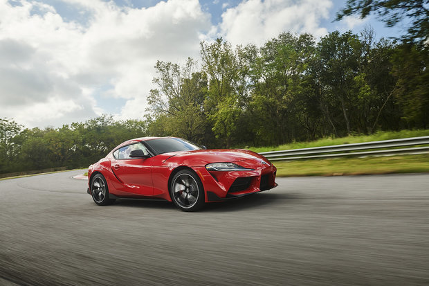 The new 2020 Toyota Supra arrives in North America
