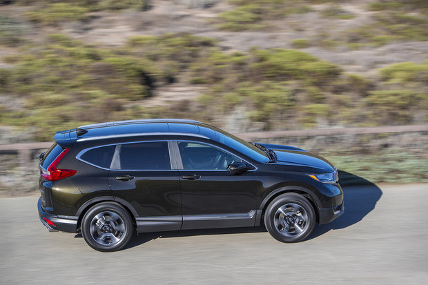 A large selection of versions in the 2019 Honda CR-V lineup.
