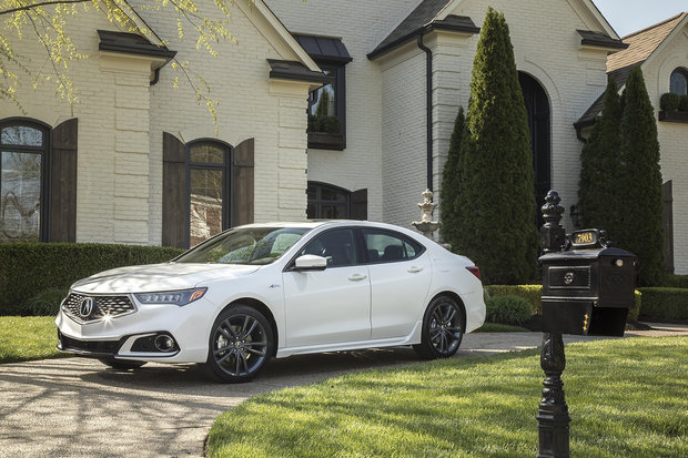 The different versions of the 2019 Acura TLX
