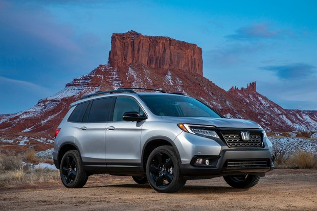 The 2019 Honda Passport and its three versions
