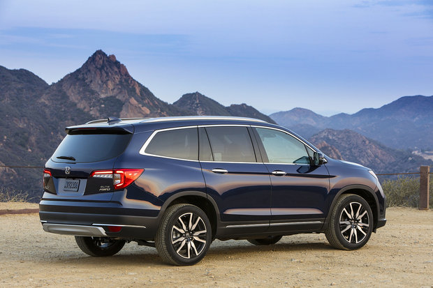 The 2019 Honda Pilot is a surprising mid-size SUV
