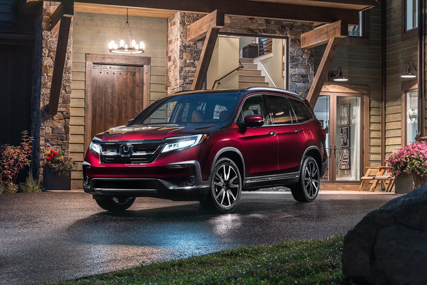 The 2019 Honda Pilot has a lot to offer