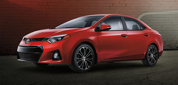 2015 Toyota Corolla – The quintessential economy car with modern styling and features
