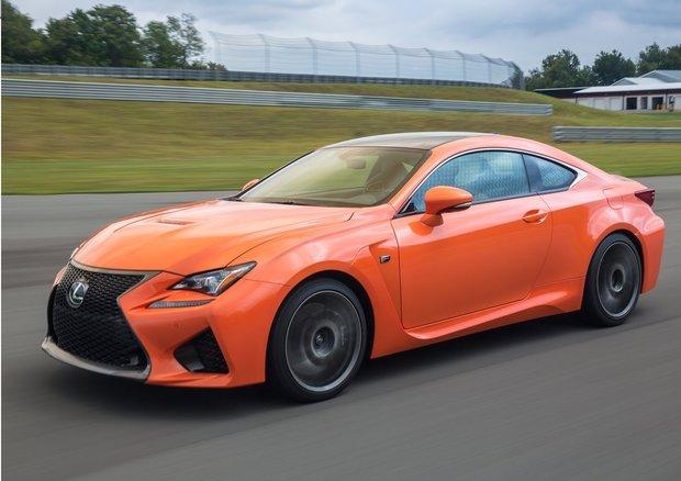 Lexus RC F 2015 – Des performances à couper le souffle