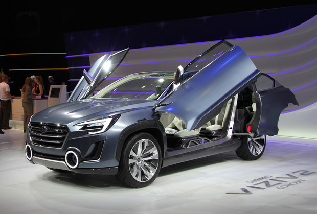 The Subaru Viziv 2 Concept showcases the bright future of Subaru