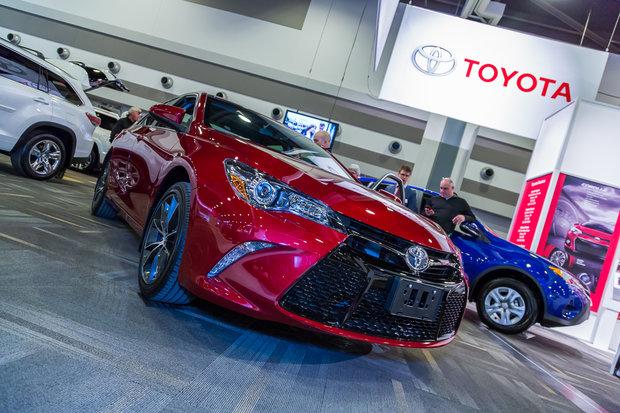 Ottawa Auto Show: 2015 Toyota Camry