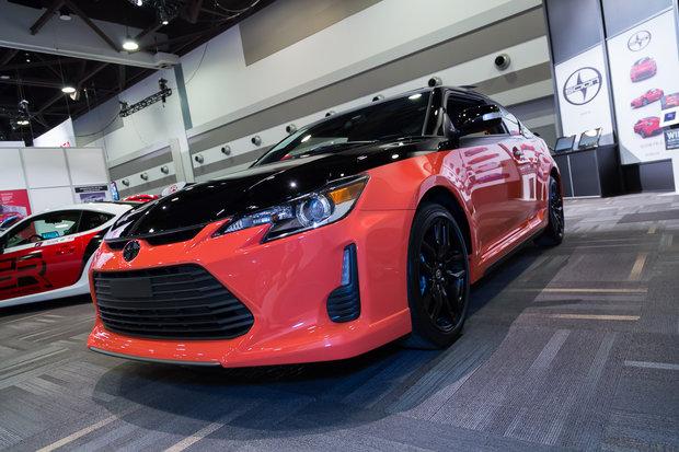 Ottawa Auto Show: 2015 Scion tC