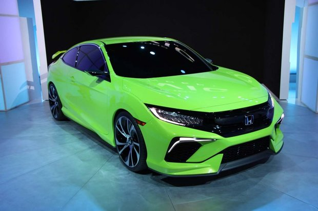 Honda Civic Concept : la surprise de New York