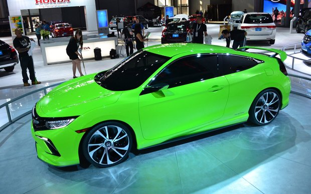 The Honda Civic Concept surprises everyone in New York