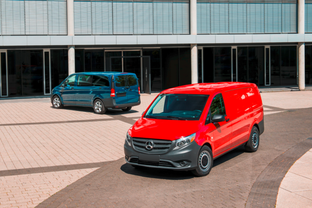 Mercedes-Benz Metris mid-size commercial van