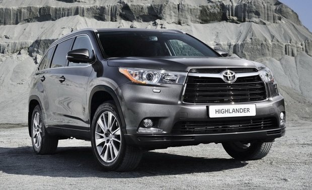 2015 Toyota Highlander - The 8-seater