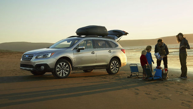 2015 Subaru Outback - One size fits all
