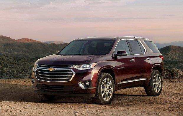 Chevrolet Unveils the New 2018 Traverse at the Detroit Auto Show