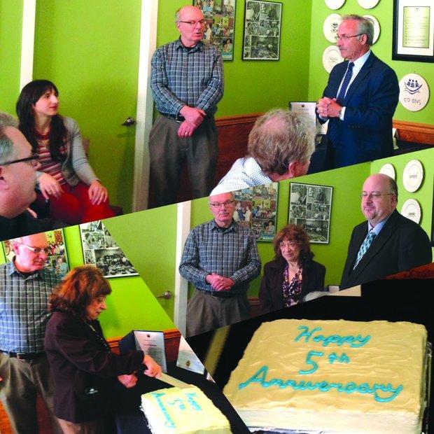 Happy 5th Anniversary L'Arche Tova Cafe!