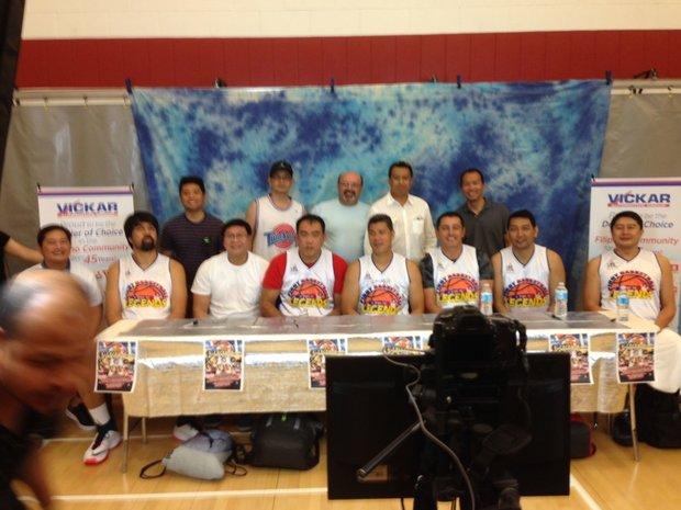 Pinoy Basketball Association Legends Game