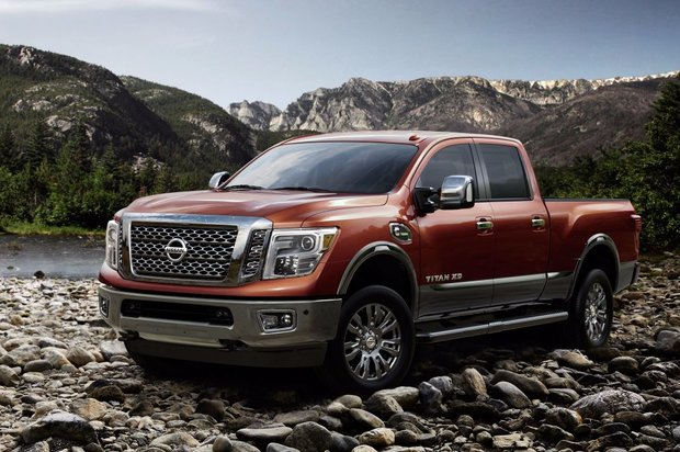 2017 Nissan Titan: power mixed with refinement