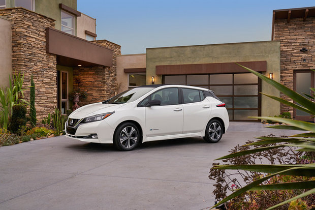 The 2018 Nissan Leaf has arrived in North America
