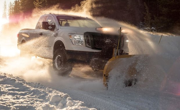 The 2018 Nissan Titan XD now available with Snow Plow Prep Package