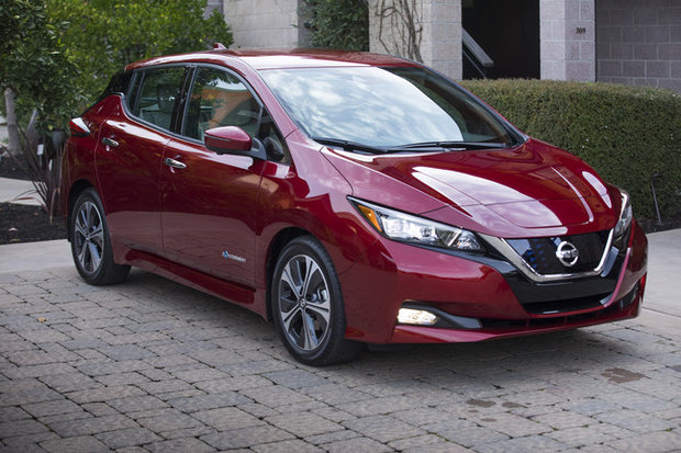 The 2018 Nissan LEAF is among the World Car of the Year finalists