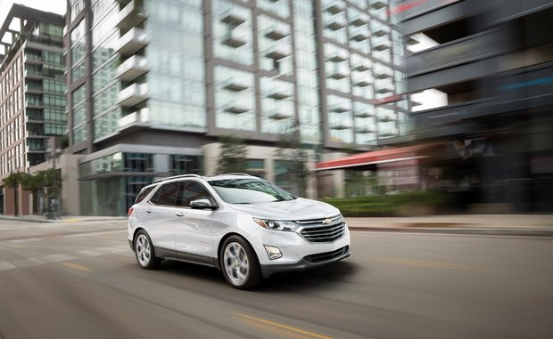The 2018 Chevrolet Equinox has everything your family needs