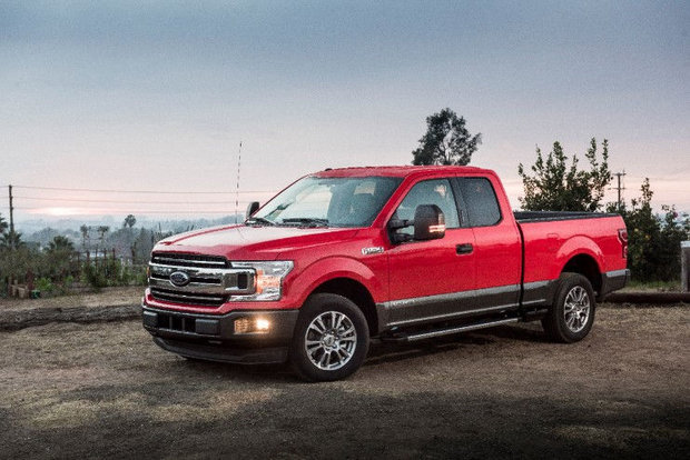 Quick look at the new 2019 Ford F-150 diesel