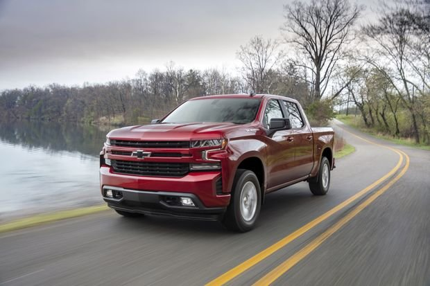 JUST ARRIVED - NEW LOOK '19 SILVERADO AT VICKAR COMMUNITY CHEVROLET